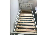 Ikea KRITTER Child's Bed Frame with Slattted Base, White