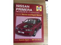 Nissan primera manual