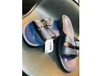 *BRAND NEW * Navy Slip On Sandals