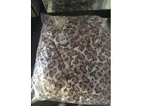 Boux avenue cheetah print robe size 8/10