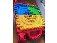 Lego mega blocks and table kids toys