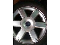 Ford Focus sport alloys