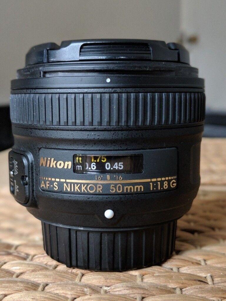 Nikon Nikkor Af S 50mm F 18 G Lens In Southwark London Gumtree 18d