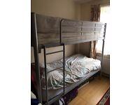 Steel / Aluminium frame bunk bed