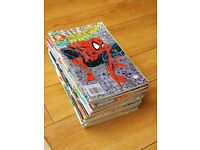 The Complete Spider-Man 1-24. UK comics. Set of late 80's early 90's comic books