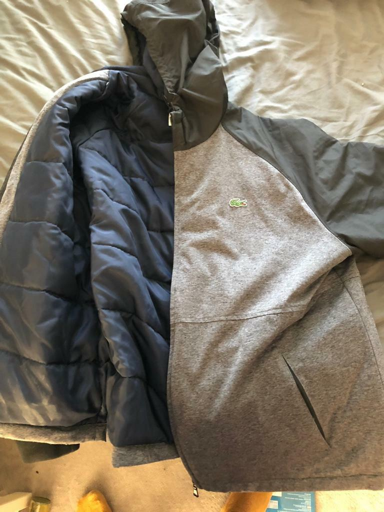 Excellent Padded Jacket Lacoste In Sport Condition Xxl Hooded xzq5I7TH