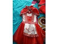 Little red riding hood dress up dress