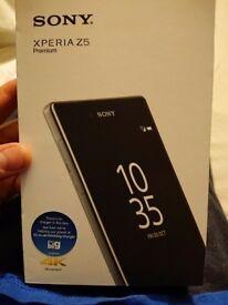 Boxed sony xperia z5 premium 32gb unlocked