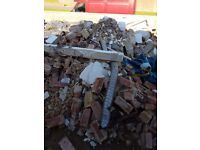 FREE TO COLLECTOR. RUBBLE, HARDCORE INCLUDING SOME BRICKS.