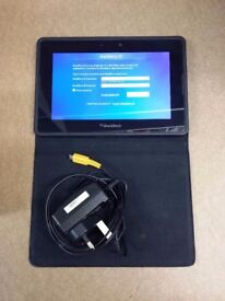 16gb blackberry playbook with case and charger