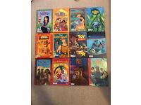 12 Ladybird Disney film books Hardback Disney kids classics