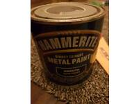 HAMMERITE DIRECT TO RUST METAL PAINT SMOOTH DARK GREEN 1L