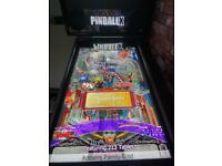 Virtual Pinball machine. Arcade . Converted full size machine