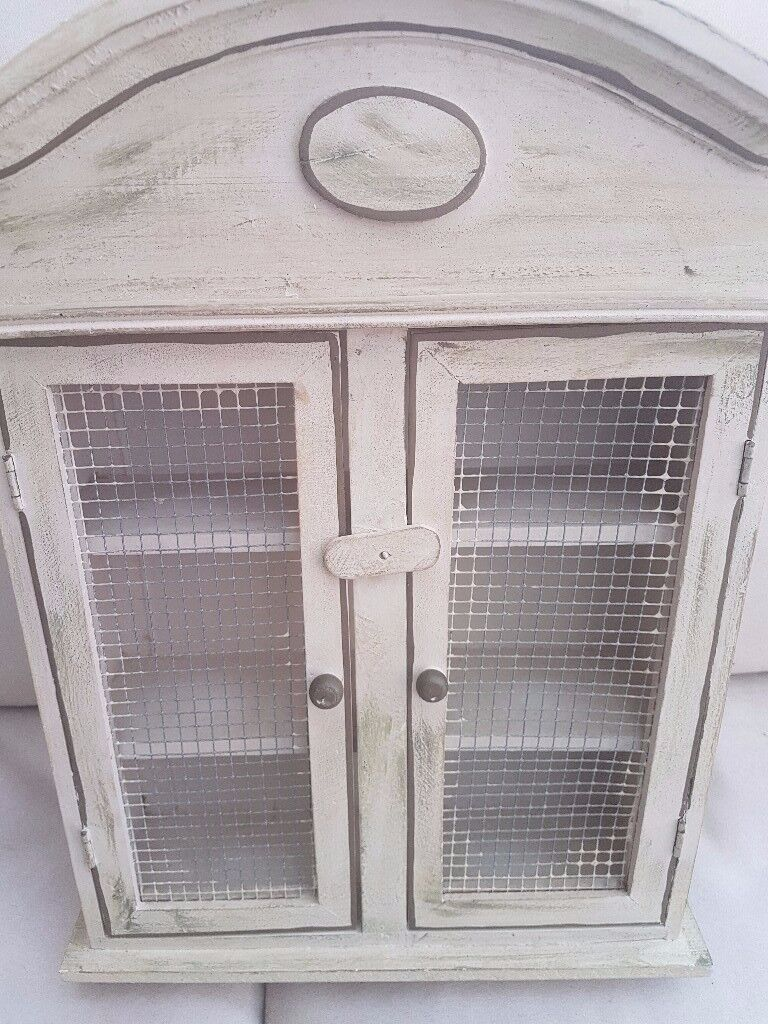 Vintage Shabby Chic Wall Unit