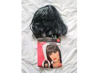 Fancy dress - black wig