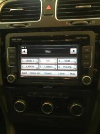 VW Golf Genuine Stereo