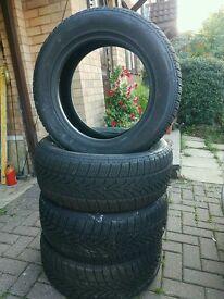 4 Winter tyres 225/55 R16 99V