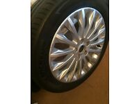 C max ford spare wheel alloy