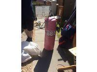 pink punch bag