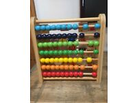 Grow & Play Alphabet & Counting Beads Abacus