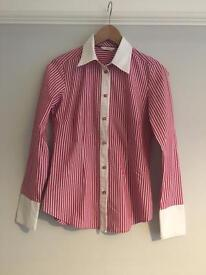 M&S Women's fitted shirt Size 8