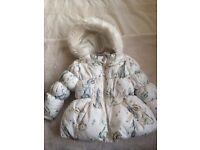 Baby girls jacket 12-18 months