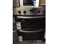 Zanussi Built in Double Electric Oven New and Unused