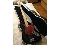 Fender Squier '77 Jazz Vintage Modified Bass Guitar & Hardcase - CAN DELIVER
