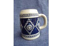 Vintage decorative Stein Beer Tankard