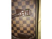 Louis Vuitton paper bag & laptop case