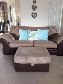 Sofa and Matching Furniture Excellent Condition and We'll Looked After