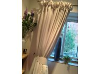 Great condition cream curtains