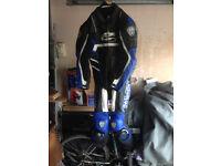Arlen Ness Full Race Leather 1Piece Suite Size 42