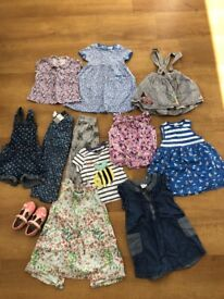 Girls 2-3 year clothes