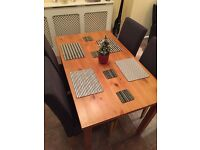 Immaculate dining set
