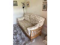 Ercol Renaissance 3 seater sofa and chair