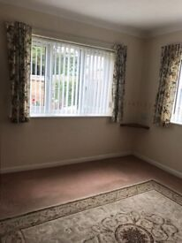 One bedroom flat to rent, over 55's only.