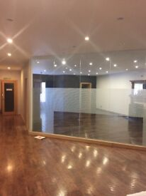 Office available to rent on King Street, Aberdeen with gas central heating inc in the rent.