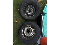 """Sprinter or VW LT 15"""" wheels"""