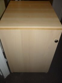 LARGE THREE DRAWER BEDSIDE TABLE IN BEACH