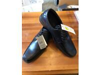 M&S Men's black shoes size 10 1/2