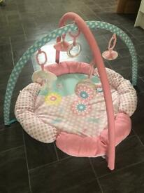 Mothercare Pink Baby Playmat