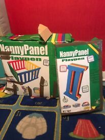 Nanny panel play pen and extension pack
