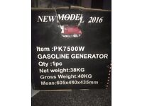 Power + Kraft -2016 Gasoline Generator 7500w - Output