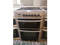 Beko double oven gas cooker