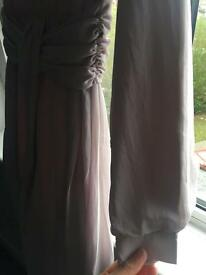Mauve long sleeved dress for all occasions!