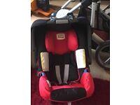 Britax car seat 0+