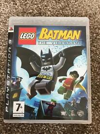 PS3 Batman - used once