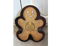 The Body Shop Gingerbread Sparkle Tin brand New