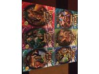 6 beast quest books £3